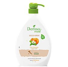 Parfums et Produits cosmétiques Savon liquide crémeux bio, Fleur d'oranger - Dermomed Orange Blossom Cream Soap