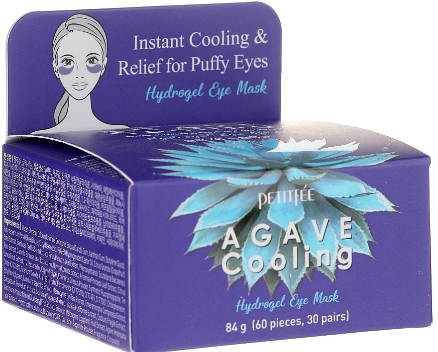 Patchs hydrogel à l'extrait d'agave contour des yeux - Petitfee&Koelf Agave Cooling Hydrogel Eye Mask