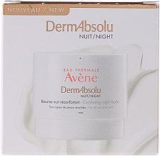 Parfums et Produits cosmétiques Baume de nuit réconfortant, tous types de peaux sensibles - Avene Eau Thermale Derm Absolu Night Cream