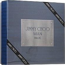 Parfums et Produits cosmétiques Jimmy Choo Man Blue - Coffret (eau de toilette/100ml + baume après-rasage/100ml + eau de toilette/7.5ml)