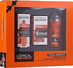 Parfums et Produits cosmétiques Coffret cadeau - L'Oreal Paris Men Expert (deo/50ml + cr/50ml + eye/roller/10ml)