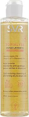 Huile lavante relipidante pour peaux sèches à atopiques - SVR Topialyse Lipid-Restoring Cleansing Oil