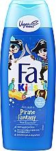 Parfums et Produits cosmétiques Shampooing et gel douche au panthénol - Fa Kids Pirate Fantasy