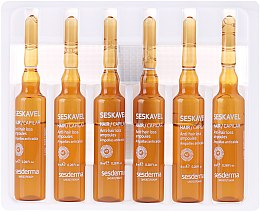 Ampoules anti-chute cheveux - SesDerma Laboratories Seskavel Anti-Hair Loss Aampoules — Photo N2
