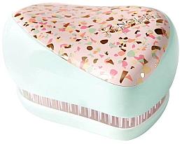 Parfums et Produits cosmétiques Brosse à cheveux compacte - Tangle Teezer Compact Styler Apricot Leopard