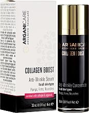 Parfums et Produits cosmétiques Sérum nourrissant au collagène et huile d'argan pour visage - Arganicare Collagen Boost Anti-Wrinkle Serum