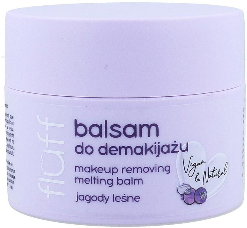 Démaquillant - Fluff Makeup Remover Balm Wild Blueberries