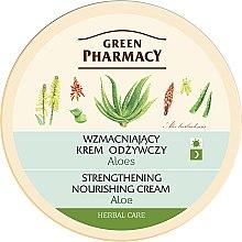 Parfums et Produits cosmétiques Crème de jour et nuit au jus d'aloès - Green Pharmacy Strengthening Nourishing Cream