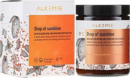 Parfums et Produits cosmétiques Beurre bronzant et régénérant pour le corps - Alkemie Drop Of Sunshine Regenerating & Bronzing Body Butter
