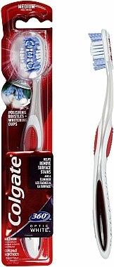 Brosse à dents, medium, rouge - Colgate — Photo N1