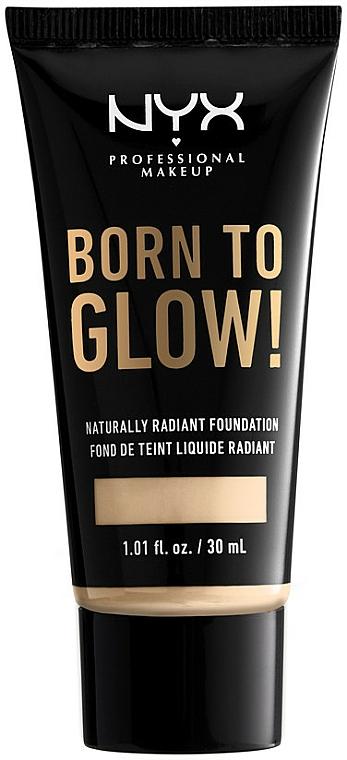 Fond de teint éclat - NYX Professional Makeup Born To Glow