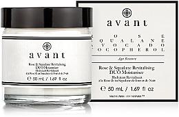 Parfums et Produits cosmétiques Soin de jour et nuit à la rose et squalane - Avant Rose & Squalane Revitalising DUO Moisturiser