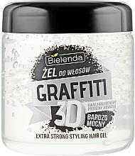 Parfums et Produits cosmétiques Gel coiffant à l'acide hyaluronique - Bielenda GRAFFITI 3D Extra Strong Stayling Hair Gel