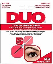 Parfums et Produits cosmétiques Colle pour faux-cils, double embout - Ardell Duo Adhesive 2in1 Lash Brush On Clear&Dark