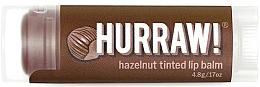 Parfums et Produits cosmétiques Baume à lèvres teinté, Noisette - Hurraw! Hazelnut Tinted Lip Balm