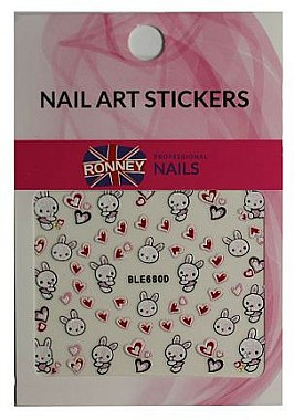 Autocollants pour ongles - Ronney Professional Nail Art Stickers