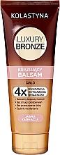 Parfums et Produits cosmétiques Baume autobronzant pour peau claire - Kolastyna Luxury Bronze Balm