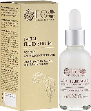 Sérum à l'extrait de thé vert pour visage - ECO Laboratorie Facial Fluid Serum