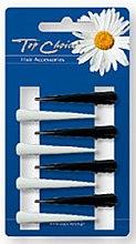 Parfums et Produits cosmétiques Barrettes cheveux 8 pcs, noir-blanc - Top Choice