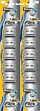 Parfums et Produits cosmétiques Lot de 10 rasoirs jetables Flex 03 - Bic
