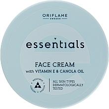 Parfums et Produits cosmétiques Crème à la vitamine E pour visage - Oriflame Essentials Face Cream With Vitamine E And Canola Oil