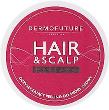Parfums et Produits cosmétiques Gommage aux graines de jojoba et noyaux d'abricot pour cuir chevelu et cheveux - DermoFuture Hair&Scalp Peeling