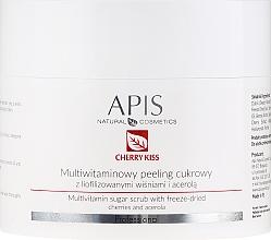 Parfums et Produits cosmétiques Gommage sucré multivitaminé aux cerises lyophilisées pour visage - APIS Professional Cheery Kiss