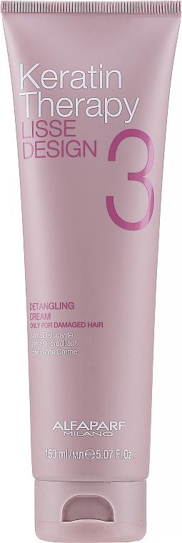 Crème lissante démêlante à la kératine pour cheveux - Alfaparf Lisse Design Keratin Therapy Detangling Cream for Women