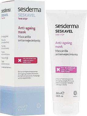 Masque anti-âge à l'extrait de téphrosie pourpre pour les cheveux - SesDerma Laboratories Seskavel Time Stop Anti-Ageing Mask — Photo N1