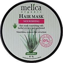 Parfums et Produits cosmétiques Masque au panthénol pour cheveux - Melica Organic Nourishing Hair Mask