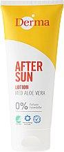 Parfums et Produits cosmétiques Lotion après-soleil à l'extrait d'aloe vera - Derma After Sun Lotion Med Aloe Vera