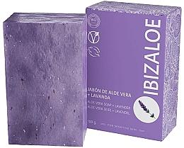 Parfums et Produits cosmétiques Savon à la lavande - Ibizaloe Aloe Vera Soap Lavender