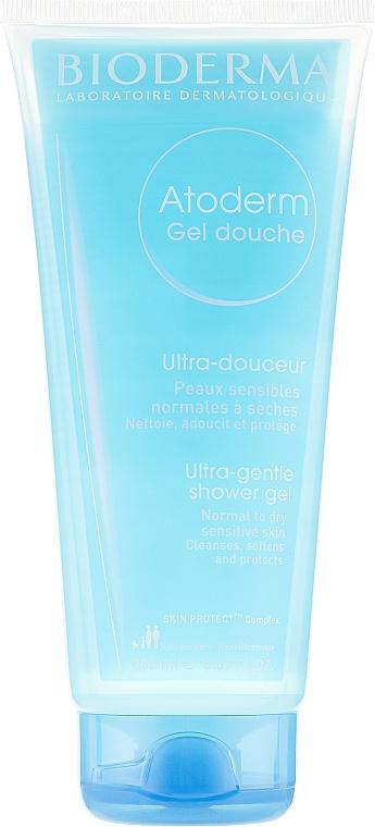 Gel douche et bain doux pour peaux sèches et délicates - Bioderma Atoderm Gentle Shower Gel
