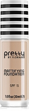 Parfums et Produits cosmétiques Fond de teint matifiant SPF15 - Flormar Pretty Mattifying Foundation