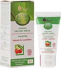 Parfums et Produits cosmétiques Sérum énergisant bio à la tomate et concombre pour visage - Ava Laboratorium Eco Garden Certified Organic Serum Tomato & Cucumber