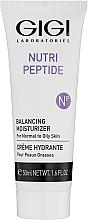 Parfums et Produits cosmétiques Crème peptidique pour visage - Gigi Nutri-Peptide Balancing Moisturizer Oily Skin