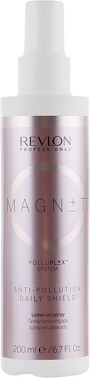 Spray au panthénol pour cheveux, sans rinçage - Revlon Professional Magnet Anti-Pollution Daily Shield