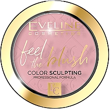 Parfums et Produits cosmétiques Blush - Eveline Cosmetics Feel The Blush