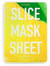Parfums et Produits cosmétiques Masque tissu en tranches à l'extrait de citron pour visage - Kocostar Slice Mask Sheet Lemon