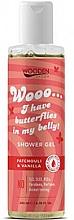 Parfums et Produits cosmétiques Gel douche à l'huile de patchouli bio et vanille bio - Wooden Spoon I Have Butterflies In My Belly Shower Gel