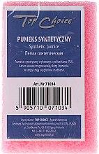 Parfums et Produits cosmétiques Pierre ponce synthétique 71034, rose - Top Choice