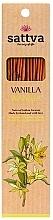 Parfums et Produits cosmétiques Bâtons d'encens Vanille - Sattva Vanilla