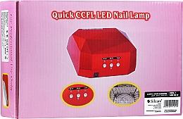 Parfums et Produits cosmétiques Lampe LED, blanc - Silcare Diamond LED CCFL UV 36W Lamp White