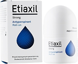 Parfums et Produits cosmétiques Déodorant roll-on anti-transpirant - Etiaxil Strong Antiperspirant Roll-on