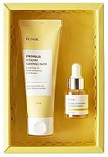 Parfums et Produits cosmétiques Coffret cadeau - iUNIK Propolis Edition Skin Care Set (mask/60ml + ser/15ml)