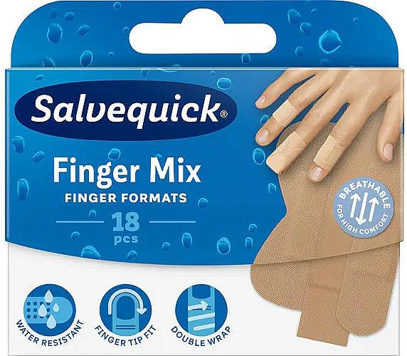 Pansements pour callosités et durillons - Salvequick Finger Mix — Photo N1