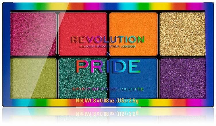 Palette d'ombres à paupières - Makeup Revolution x Pride Spirit Of Pride Shadow Palette