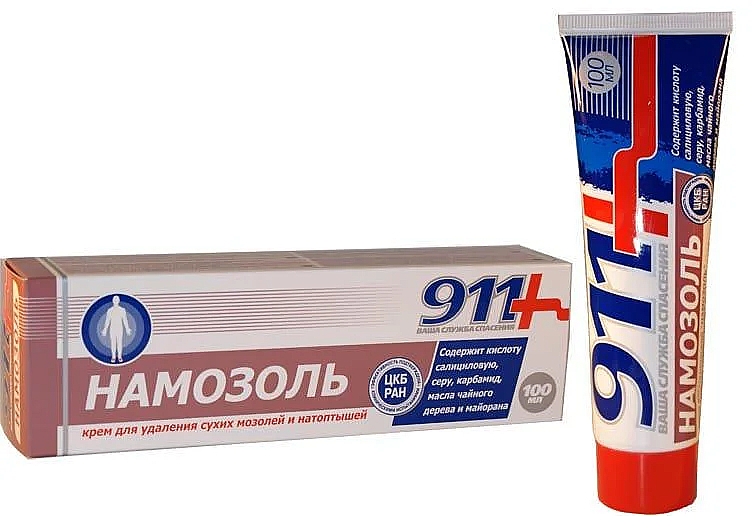 Crème à l'huile d'arbre à thé pour callosités et cors secs - 911