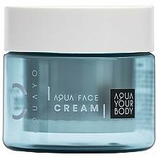 Parfums et Produits cosmétiques Crème de jour à l'acide hyaluronique SPF 15 - AQUAYO Aqua Face Cream