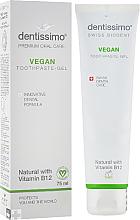 Parfums et Produits cosmétiques Dentifrice à la vitamine B12 - Dentissimo Vegan with Vitamin B12